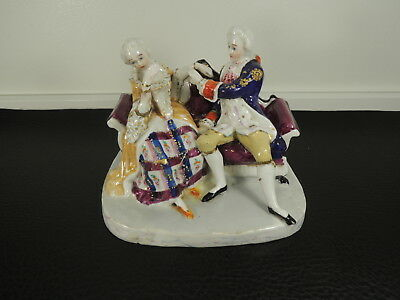 Late 18th C German Porcelain Conta Boehme figurines