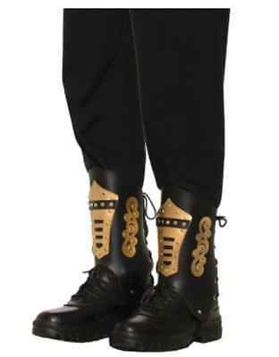Steampunk Boot Top Leg Guards - Adult Costume Accessory