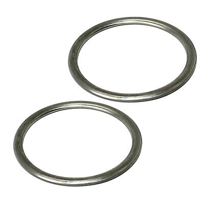 2 EXHAUST PIPE GASKETS Fits KAWASAKI VN750A VULCAN 750 1986-2006
