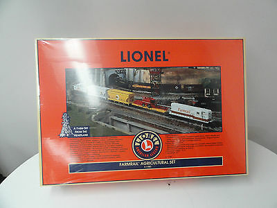 Lionel Farmrail Agricultural Train Set new # 11983 RARE UNCATALOGED C 10 sealed