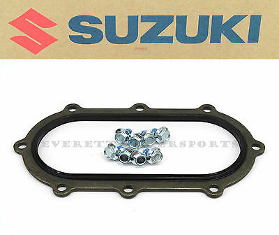 New Genuine Suzuki Fuel Pump Packing Gasket w/ Bolts TL1000R *NOT S Model* #V08
