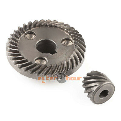 New 2pcs Replacement Spiral Bevel Gear for Makita 9553 Angle Grinder
