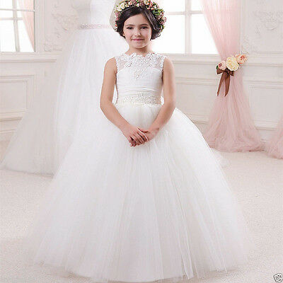 NEW++ Communion Party Prom Princess Pageant Bridesmaid Wedding Flower Girl Dress