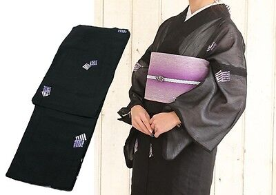 Japanese Women's Traditional KIMONO for Summer ns42 Polyester 100% Japan #06