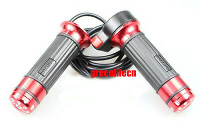Red Twist Gas Throttle With Switch Electric Bike Scooter Motorcycle Moped E-bike