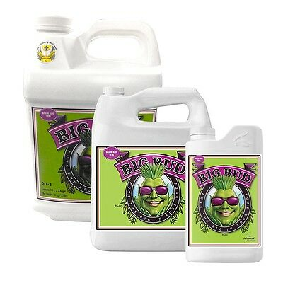 Advanced Nutrients, Big Bud  100Ml, 250Ml,500Ml, 1Ltr, 5Ltr, 10 Ltr Hydroponics!