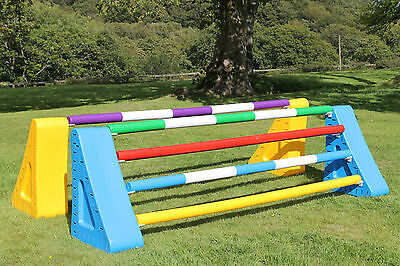 Plastic Horse Jump Pole, Stile Poles, Banded, Unbanded, (1 x pole) *OFFER*