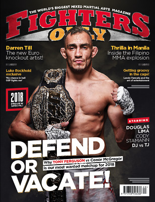 Fighters Only Magazine 1 Year Subscription (UK Only)