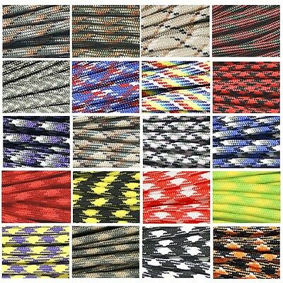 33/50/100FT 550 Paracord Parachute Cord Lanyard Mil Spec Type III 7 Strand Core