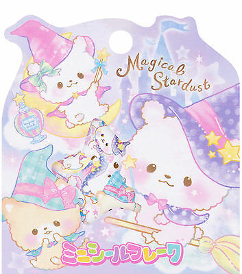 """Crux """"Magical Stardust"""" Sack o' Stickers (Bears, Witches, Wizards, Magic)"""