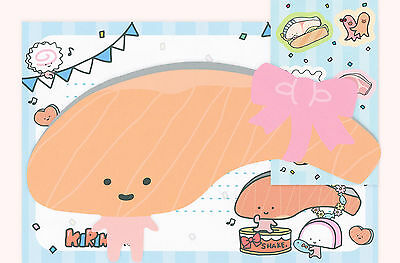Sanrio Kirimi Chan (Sashimi) Letter Set with Die Cuts