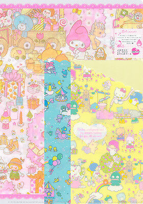 Sanrio Hello Kitty and Other Characters 3 x Files