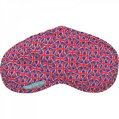 Union Jack Flag Eye Mask Blindfold Beauty Sleeping Aid Travel Face Cover Soft