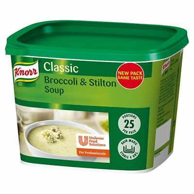 Knorr Classic Cream of Broccoli & Stilton Soup Mix 25 Portions