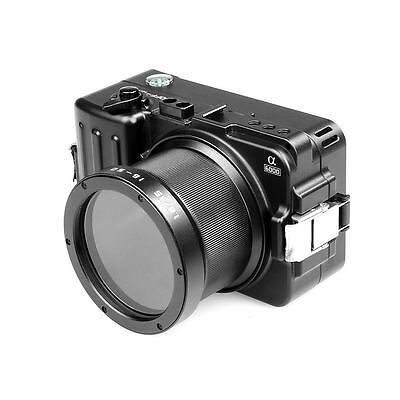 Voking Aluminium Alloy Underwater Camera Housing Case for Sony A6000