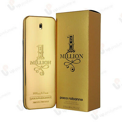 Paco Rabanne 1 One Million Edt 200Ml Uomo Eau De Toilette Vapo Spray