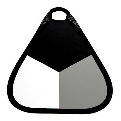 Phot-R 3-in-1 56cm Handheld Collapsible Triangle Studio Light Flash Reflector