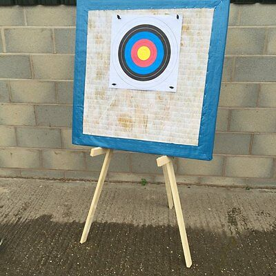 90x90 archery target straw boss stand 20 x free target faces  sent fast and free