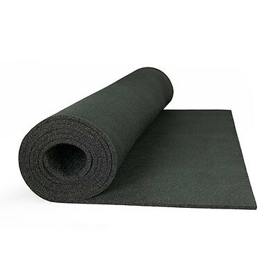"High Temp Felt Welding Blanket: 72"" Wide X 4 Yd Long, Black"