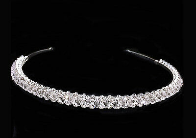 """Crystal And Clear Rhinestones For Wedding  With silver plated  0.3//8/""""Tall"""