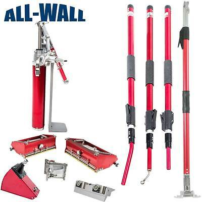 """Level5 Drywall Finishing Set with Extendable Handles and With 10"""" & 12"""" Box*NEW*"""