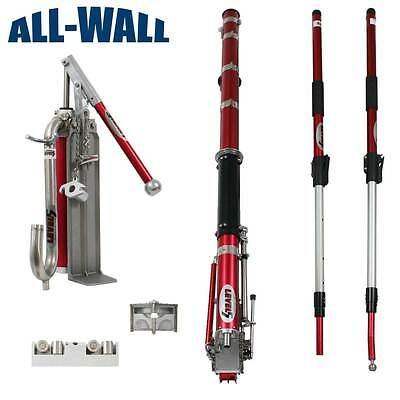 NEW Level5 EXTENDABLE Drywall Taping Set w/Taper, Corner Tools, Pump, Gooseneck