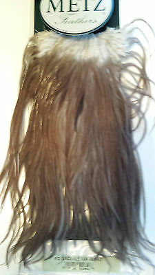"""#2 Metz    Saddle Hackle   """" Variant """" Feathers    Free Shipping"""