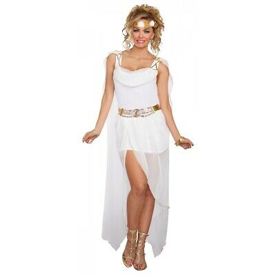 Greek Goddess Costume Adult Halloween Fancy Dress