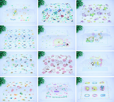 10X Child Cartoon Pocket Hankerchief Hanky Wedding Party Handkerchiefs LOT