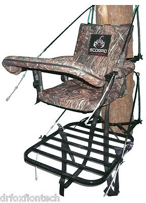 New Climber Tree Stand 22 lbs Welded Noiseless Hunting Bow Crossbow Scorpio Std