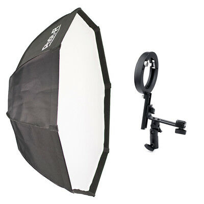 95cm Octagon Octabox Softbox L Shaped Bowens Sony Flash Speedlite Bracket Mount