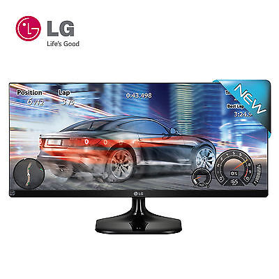 "LG 25UM58 25"" 21:9 UltraWide WFHD 2560 x 1080 LED IPS sRGB 100%  Gaming Monitor"