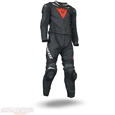 Dainese T. Laguna Seca Evo Div Nero Antracite Bianco, Two Piece Racing Suit, NEW