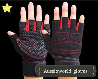 NEW Training  Lifting Men Ladies Gym Body Building Fitness Gloves Weight
