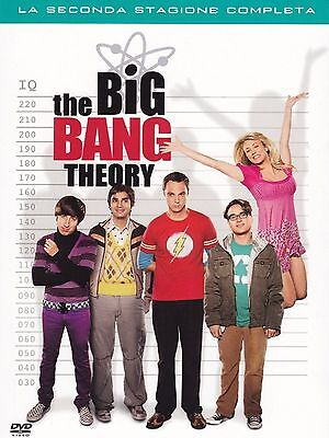 COFANETTO DVD - THE BIG BANG THEORY STAGIONE 2 (4 DVD) - Nuovo