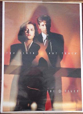 """TV POSTER~X-Files The Truth is Out There 25x35"""" Fox Mulder Dana Scully UK Import"""