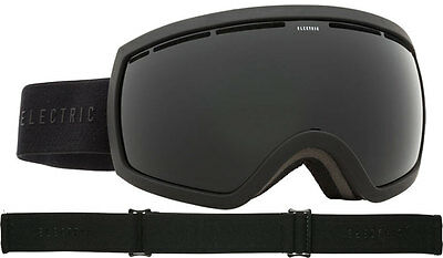 2016 Electric EG2.5 Snow Goggles Matte Black - Jet Black + Bonus Green Lens
