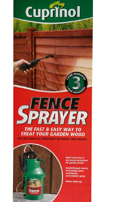 Cuprinol Fence Pump Sprayer Spray Paint Painter Garden - Brand New Boxed