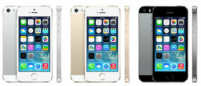 Apple iPhone 5S GSM  Unlocked Smartphone 16gb in Gold, Silver or Space Gray