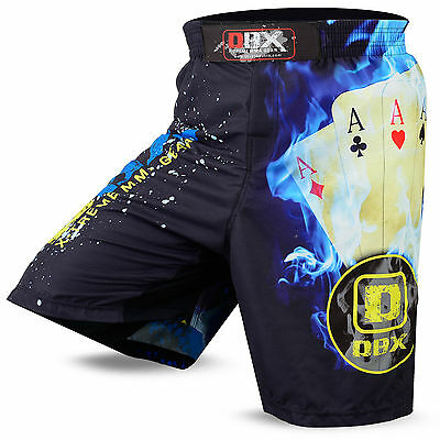 Summer MMA Grappling Shorts Cage Fighter UFC Kick Boxing Short Muay Thai Cards