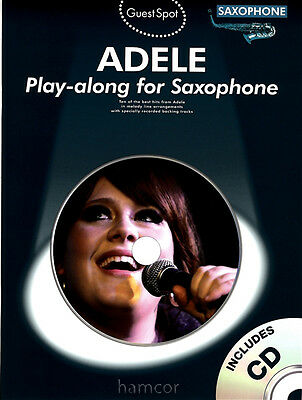 Adele Play-Along for Saxophone Best of Music Book 19 21