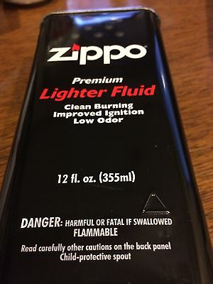 Zippo 12oz Can Fuel Fluid, For:All Zippo Pocket Lighters, Premium Formula #12FC