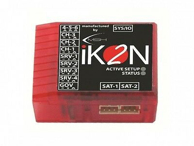 iKON2 Flybarless Gyro System W/ Polarity Protection & Rescue Mode IKON2001