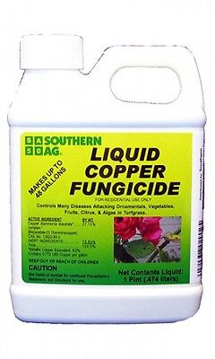 Southern Ag Liquid Copper Fungicide 16 oz - 1 Pint
