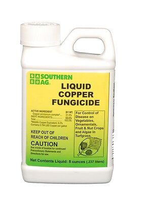 Southern Ag Liquid Copper Fungicide 8 oz.
