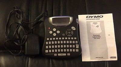 DYMO LabelManager 150 Label Maker With AC Power Supply & Instructions Tested