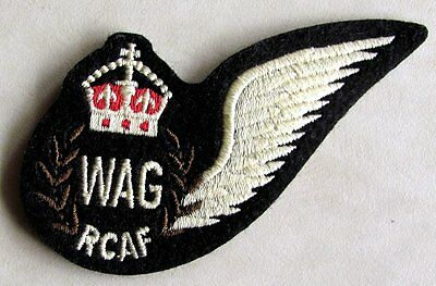 RCAF Royal Canadian Air Force Wireless Air Gunner Wing Badge WWII Replica