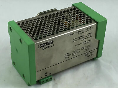Phoenix Contact QUINT 2,5 PS-230AC/24DC/2,5/F Power Supply 2939357 USED