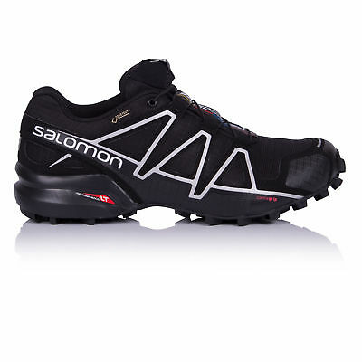 Salomon Speedcross 4 Mens Black Gore Tex Waterproof Running Shoes Trainers