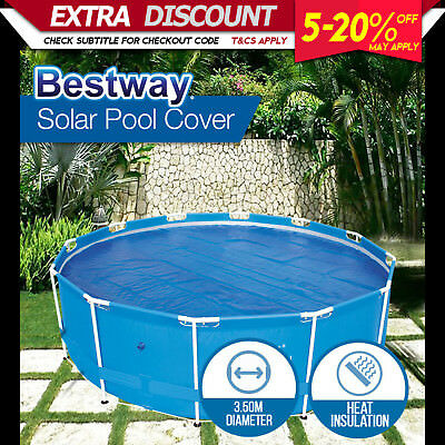 NEW Bestway Swimming Pool Cover 3.5m Diameter fits 58293 and 56242 UV resistant